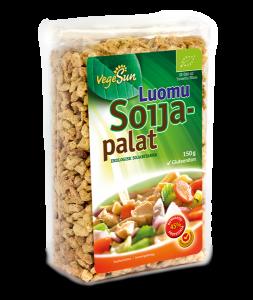 Luomu soijapalat 150g Gton